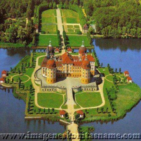 Castillo De Moritzburg Dresda Sajonia Alemania