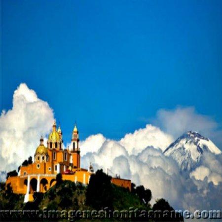 Montanas De Cholula Puebla Mexico
