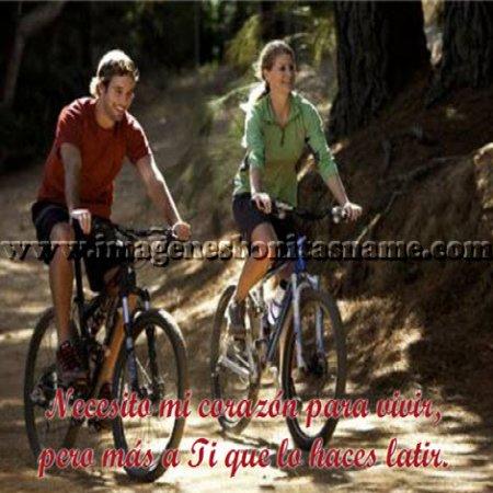 Amigos Montando Bicicleta