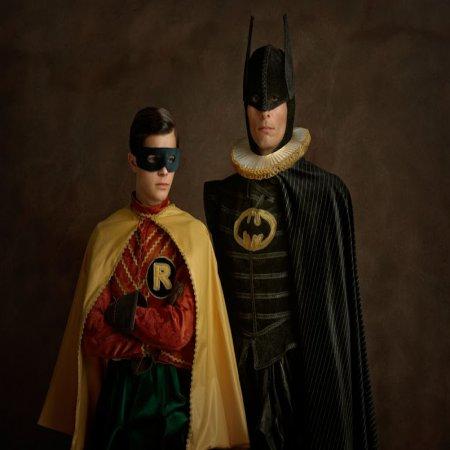 Batman Robin Siglo 16