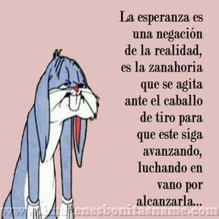 Bugs Bunny Triste