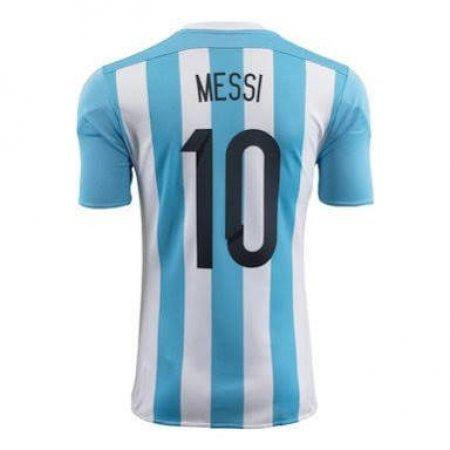 Camiseta De Messi Con La 10 En La Espalda