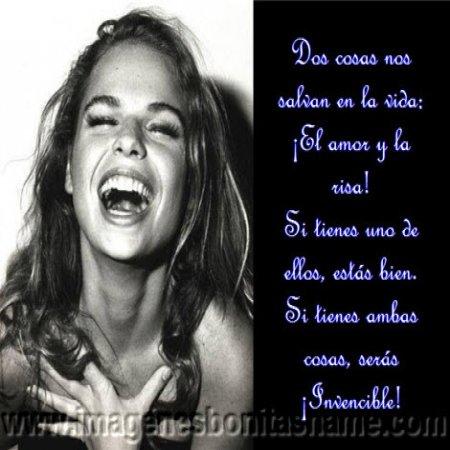 Chica Con Sonrisa Grande