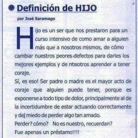 Definicion De Hijo Saramango