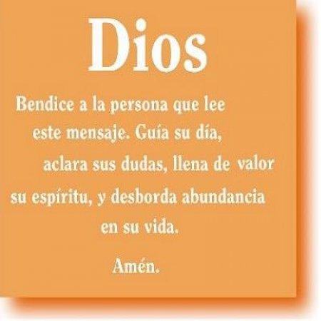 Dios Bendice A