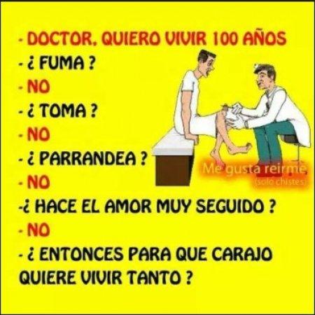 Doctor Quiero Vivir 100 Anos
