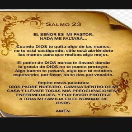 El Senor Salmo23