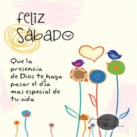 Feliz Sabado Imagen Con Frases