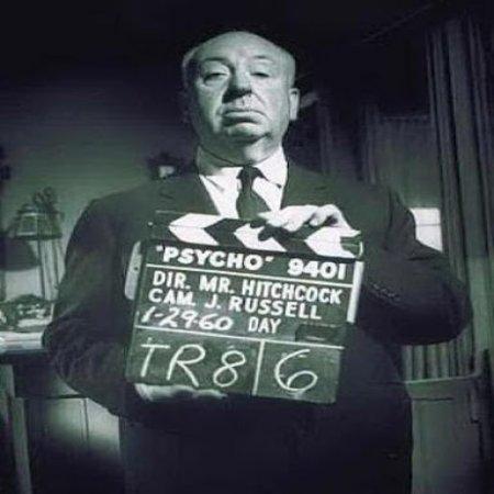 Foto De Alfred Hitchcock 1960