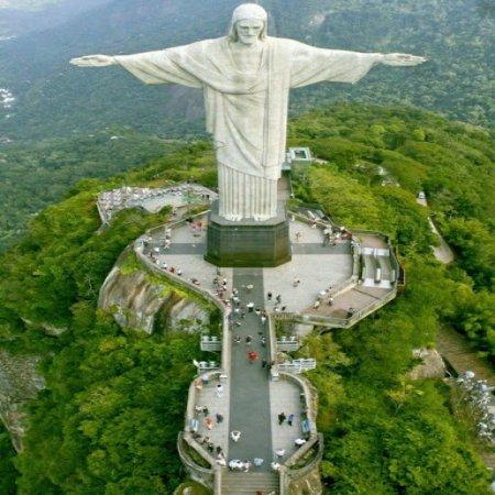 Foto Unica Del Cristo Redentor Cristo Corcovado