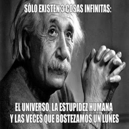 Frase De Einstein Cosas Infinitas
