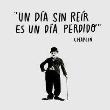 Frases De Chaplin Un Dia