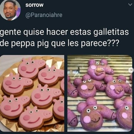Galletitas De Peppa Pig