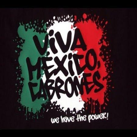 Imagen Com Frase Viva Mexico Cabrones