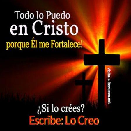 Imagen Cristiana Todo Lo Puedo En Cristo
