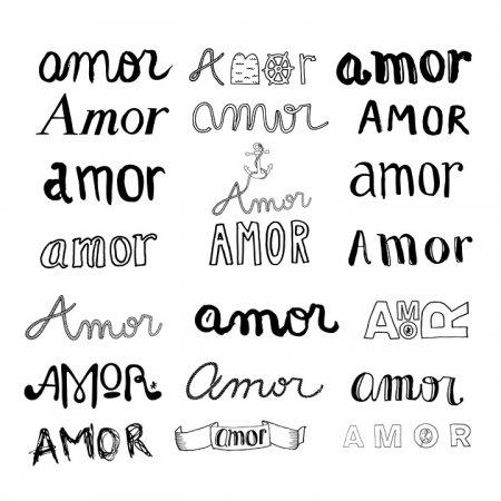 Imagen De Amor Tipografia