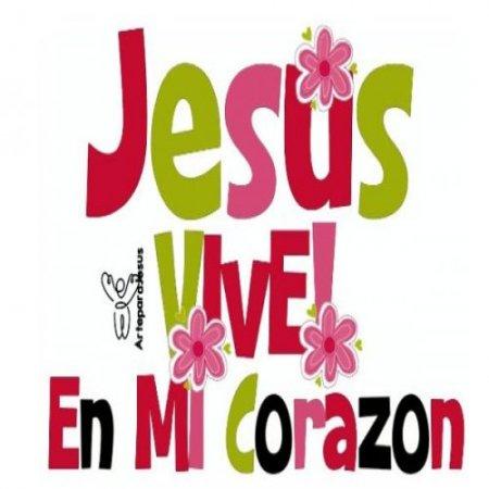 Imagenes Cristianas De Amor Jesus Vive En Mi Corazon