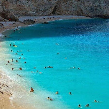 Isla Lefkada Ionian Mar Grecia