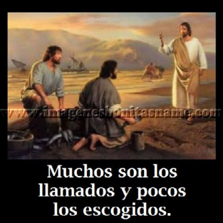 Jesus Llamando A Sus Apostoles