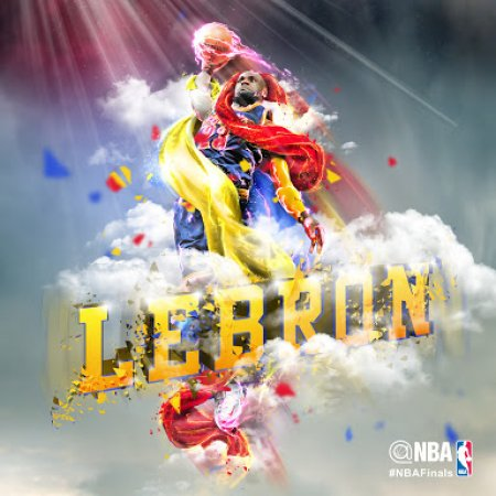 Lebron James Foto Espectacular12