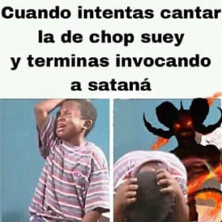 Meme Cantar Chop Suey