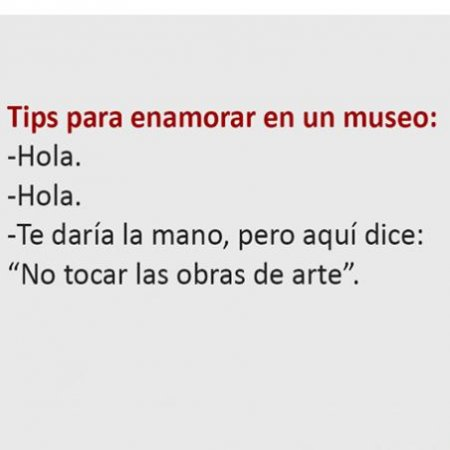 Meme Como Enamorar En Un Museo