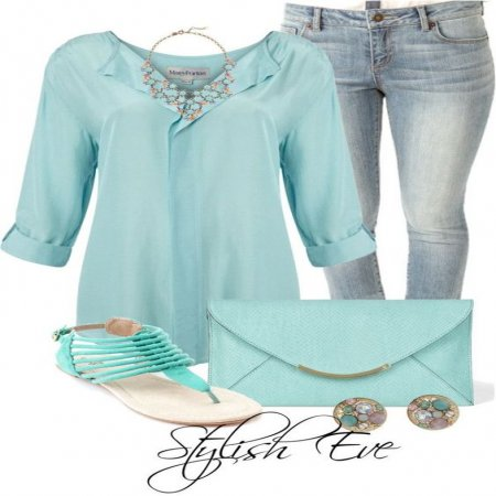 Outfit En Celeste