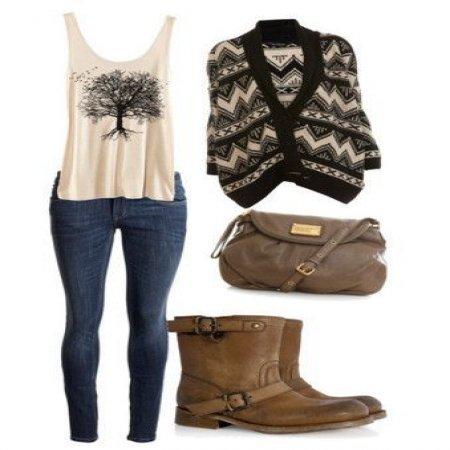 Outfit Para Jovenes A La Moda