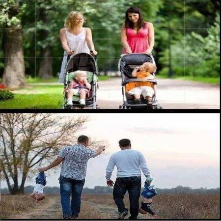 Padres Y Madres Diferentes Formas De Criar
