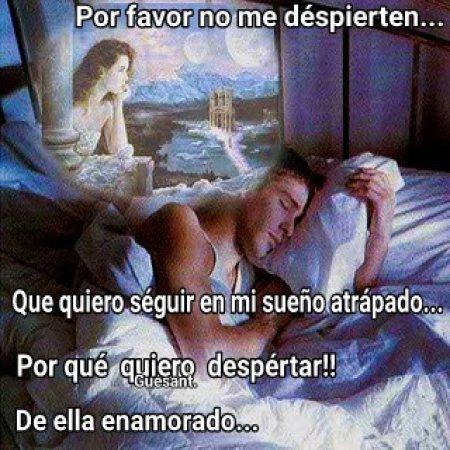 Por Favor No Me Despierten