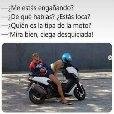 Quien Es La Chica De La Moto Imagenes Bonitas Frases Bonitas