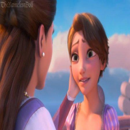 Rapunzel Con Pelo Corto