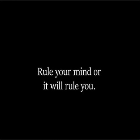Rule Your Mind Or Quotes Thingking