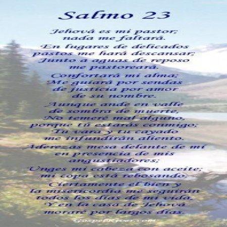 Salmo 23 Jehova
