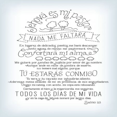 Salmo 23 Psalm 23
