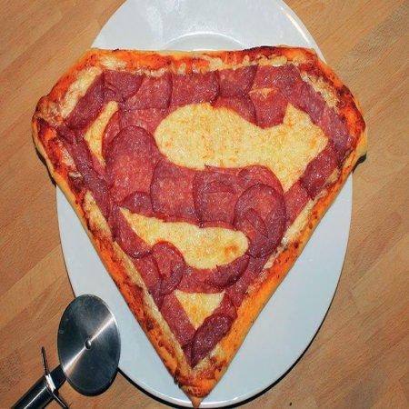 Superman Pizza Imagenes Bonitas