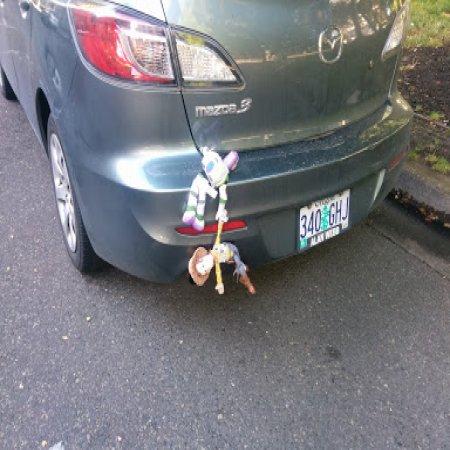 Toy Story Cuelga De Auto