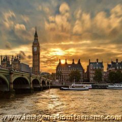 Atardecer En Londres Inglaterra