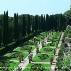 Jardin De La Residencia Papal Castel Gandolfo Lazio Italia