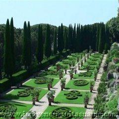 Jardin De La Residencia Papal Castel Gandolfo Lazio Italia