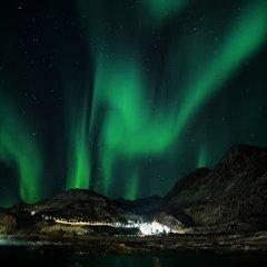 Aurora Boreal Foto Completa