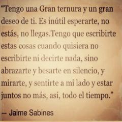 Cita Corta De Jaime Sabines