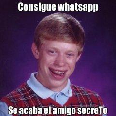 Consigue Wataspp Se Acaba Amigo Secreto