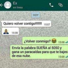 Conversacion Whatsapp Con El Ex
