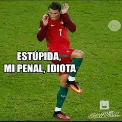 Cristiano Ronaldo En Postura De Mujer Eurocopa 2016