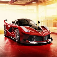 Espectacular Foto De Ferrari Fxx