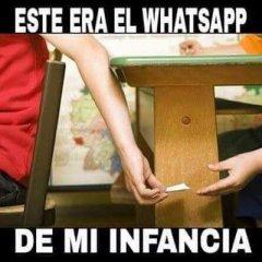 Este Era El Whatsapp De Mi Infancia