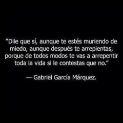 Frase De Garcia Marquez