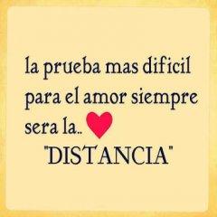 Frase Facebook La Prueba Mas Dificil Para El Amor