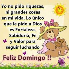 Frase Feliz Domingo Con Imagen
